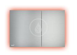 Ovládacie tlačidlo splachovania s podsvietením, alunox/mat