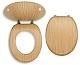Novaservis Prestige - Doska, dyhované drevo WC/BAMBUS